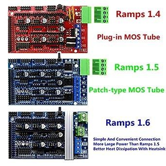 Amazon.com: Impresora 3D - Rampas 1.6 Control de Expansión ...