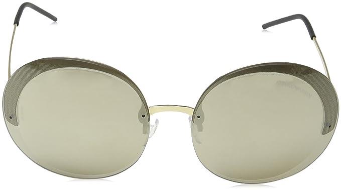 d8a09c78199 Amazon.com  Emporio Armani EA2044 31245A Pale Gold EA2044 Round Sunglasses  Lens Category 3  Emporio Armani  Clothing