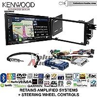 Volunteer Audio Kenwood Excelon DNX694S Double Din Radio Install Kit with GPS Navigation System Android Auto Apple CarPlay Fits 2003-2005 Chevrolet Blazer, 2003-2006 Silverado, Suburban