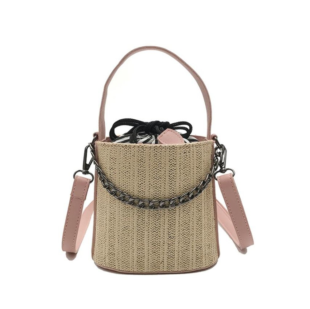 Amazon.com   ELEGENCE-Z Straw Bag e35aa09ac61e0