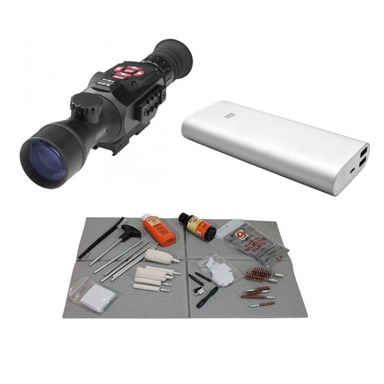 ATN X-Sight-II HD 3-14X Day&Night Rifle Scope w/ Full HD Video Recording w/ATN Extended Power 20,000 mAh Battery Pack