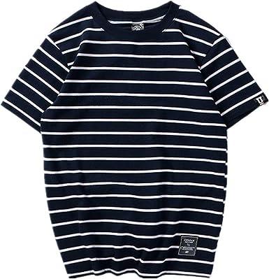 Marca de Moda Camiseta Hombre Verano Hombre Camisetas Manga Corta Top Skateboard Unisex Camisetas Hip Hop Tops: Amazon.es: Ropa y accesorios