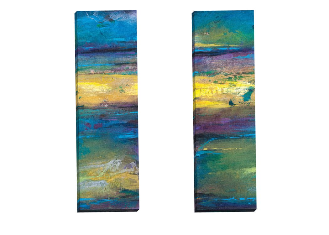 Portfolio Leinwand Leinwand Leinwand Decor 2 Stück 'transference-Panel I' von Charles Culver verpackt und Gespannte Leinwand Art Wand Set, 30,5 x 91,4 cm B0158E1QG4   Online Outlet Store  3dfcd1