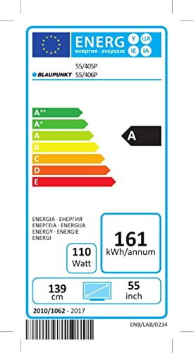 Blaupunkt BLA-55/405P-GB-11B4-UEGBQPX-EU 139 cm (55 Zoll