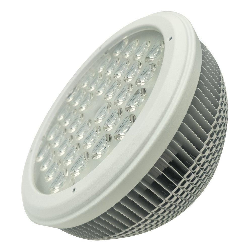 Bombilla LED Par56 30W Foco Blanco Cálido (2700-3000K) Ángulo de haz 60° GX16D Base, Reemplazar Par-56 300W Bombilla Halógena (Blanco cálido): Amazon.es: ...