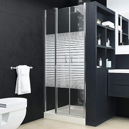 yorten - Puertas de Ducha Modernas para baño (Marco de Aluminio ESG de 120 x 185 cm, fácil de Limpiar): Amazon.es: Hogar