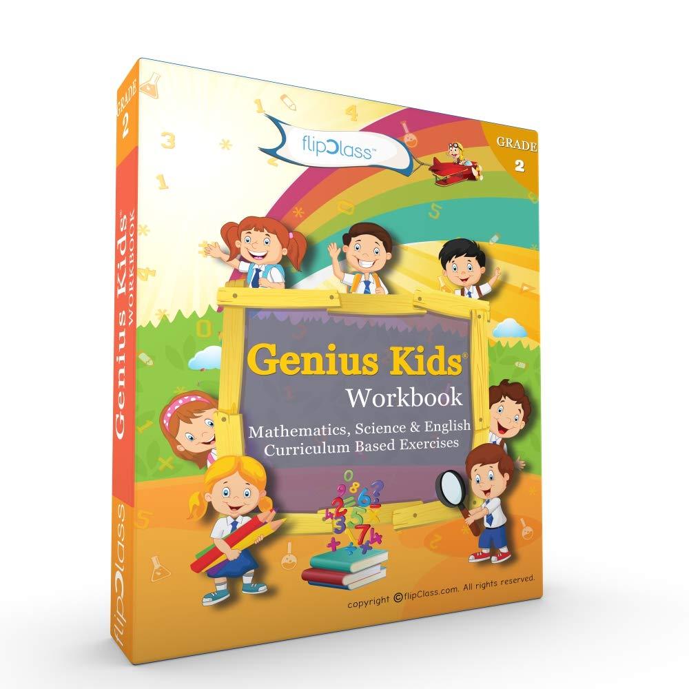 Buy Genius Kids Worksheets (Bundle) for Class 2 (Grade-2) - Set of 6 ...