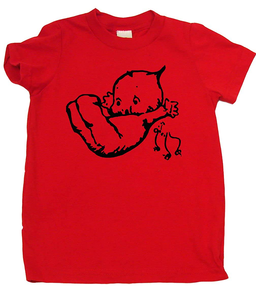Adorable Baby Gift Falling Kewpie Cute Toddler Clothes Boy Or Girl T-Shirts