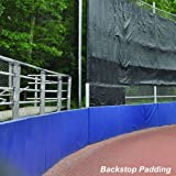 Jaypro Sports BSP2312 3 ft. x 12 ft. x 2 in. Backstop Pad