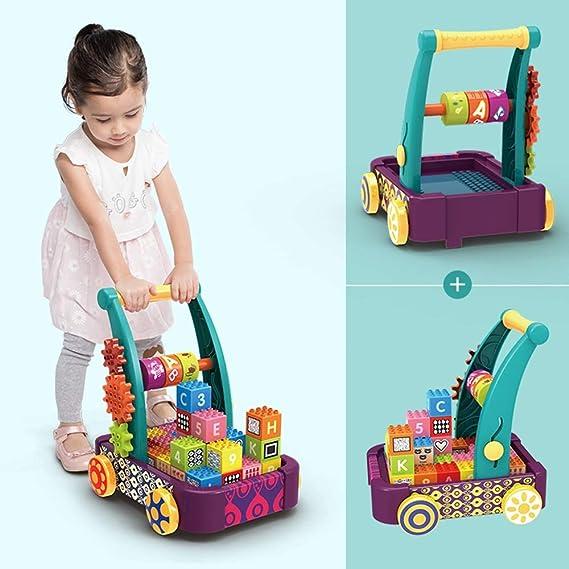 Axdwfd Andador Bloques de construcción for bebés, Andador ...