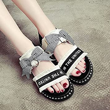 4f3913184599e6 LGK FA Summer Women S Sandals Flat Bottomed Sandals Girls Summer Shoes ...