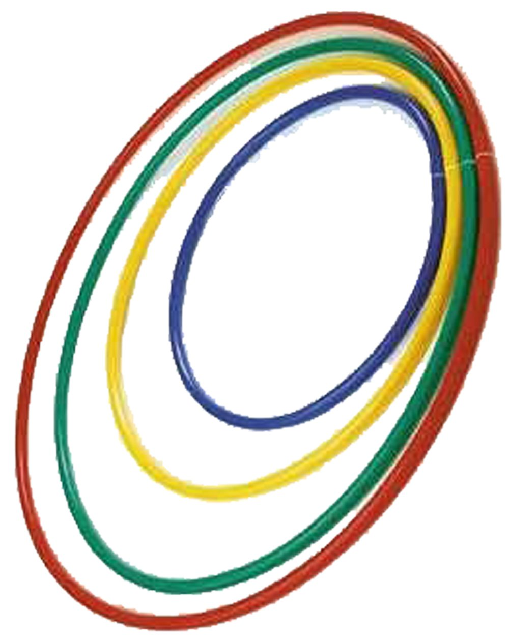 WORKOUT EXERCISE & FITNESS PLASTIC HOOP RING KIDS GYM PE PLAY HULA HOOP ASSORTED OSG