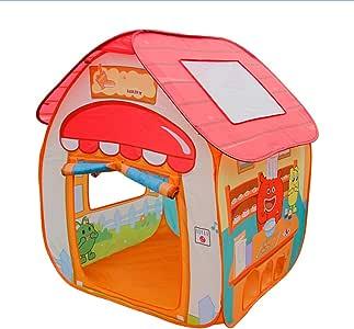 PUDDINGT® Tienda de Campaña Emergente para Niños Diseñada como un Patio de Granja con Un Piso de Juego Impreso único: Juguete para Niños/Niñas Tienda de Juguetes/Casa de Juegos: Amazon.es: Deportes y aire