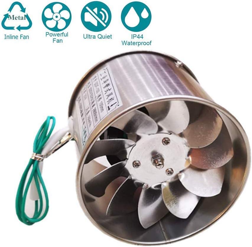 Ventiladores extractores Ventilador de baño de 25 W Ventilador de escape estándar Ventilador de baño Ventilador de pared para baño y cocina con bajo consumo de energía, funcionamiento silencioso