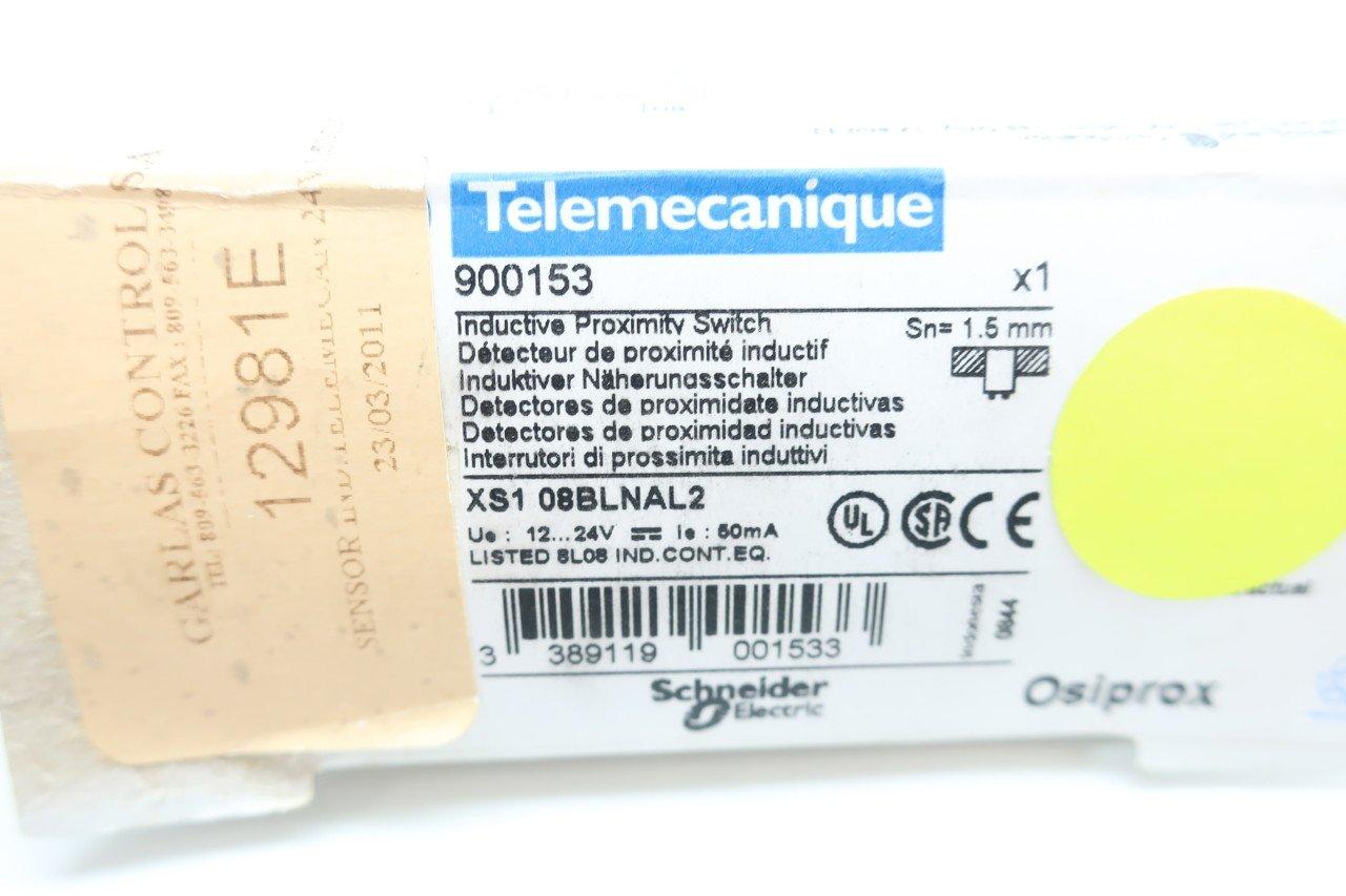 TELEMECANIQUE XS1-08BLNAL2 INDUCTIVE Proximity Switch 12-24V-DC 50MA D618016: Amazon.com: Industrial & Scientific