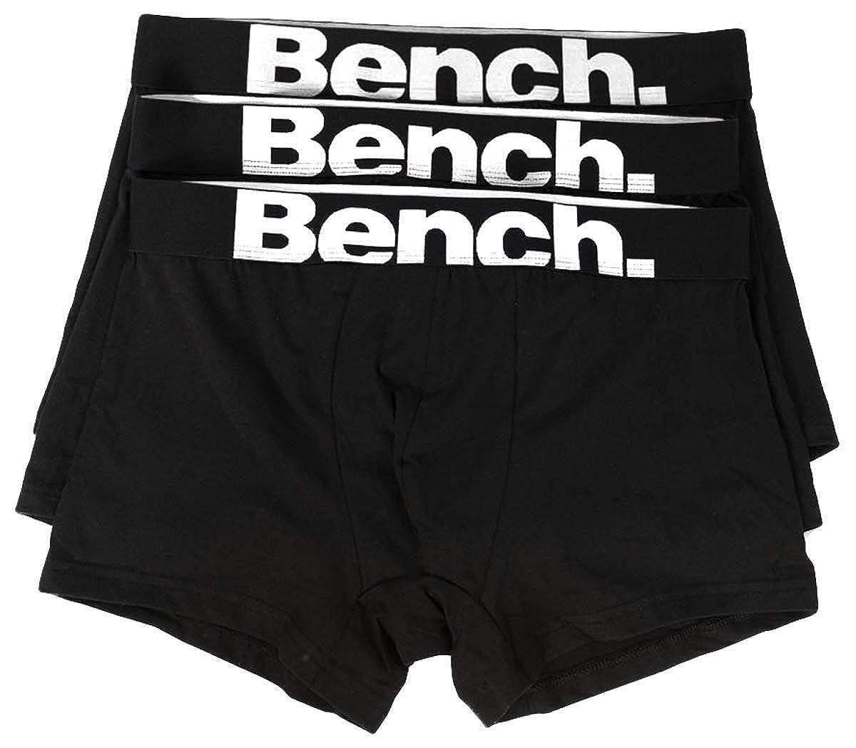 Bench 3 Pack Logo Boxer Short Trunks Packs BMYD0738-BK022