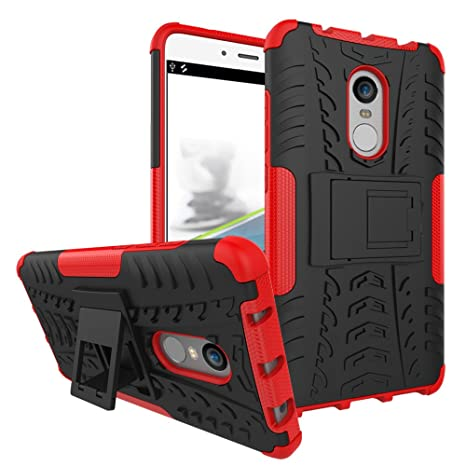 Max Power Digital Xiaomi Funda Heavy Duty Híbrida Rugged Armor Case Choque Absorción Protección Dual Layer Bumper Carcasa con Pata Trasera para Xiaomi ...
