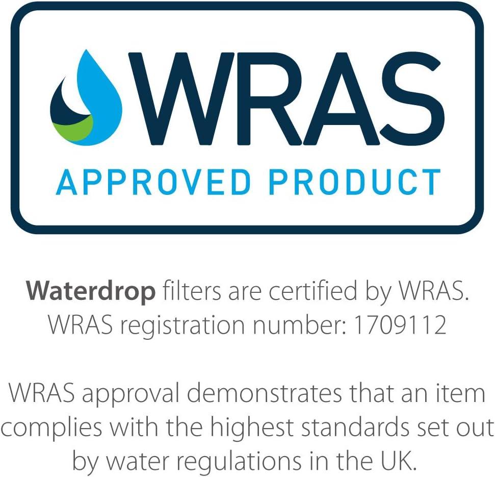 Waterdrop UKF8001 Sostituzione Filtro Acqua Frigorifero Interno per Maytag UKF8001 1 Amana Jenn-Air PUR Puriclean II UKF8001AXX UKF9001; Whirlpool//KitchenAid 4396395 EDR4RXD1; Viking RWFFR; SK535