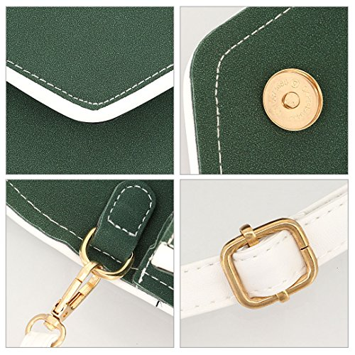 Boutique Verde Da Borsa Sposa Donna Attraversato rCr74w