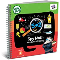 (Math and Critical Thinking) - LeapFrog LeapStart 1st Grade Activity Book: Spy Math and Critical Thinking