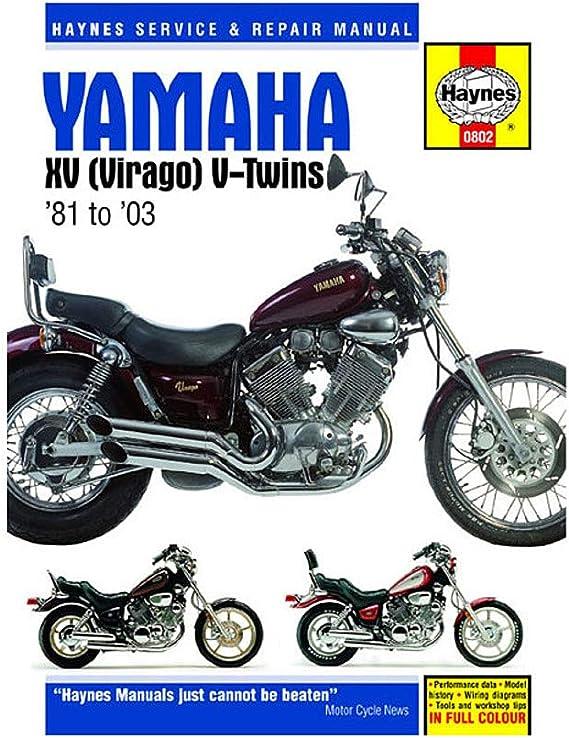 Amazon.com: Haynes Repair Manual for 81-97 Yamaha XV750: AutomotiveAmazon.com