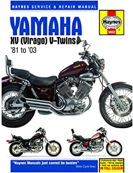 Amazon.com: Haynes Repair Manual for 81-97 Yamaha XV750: Automotive Amazon.com