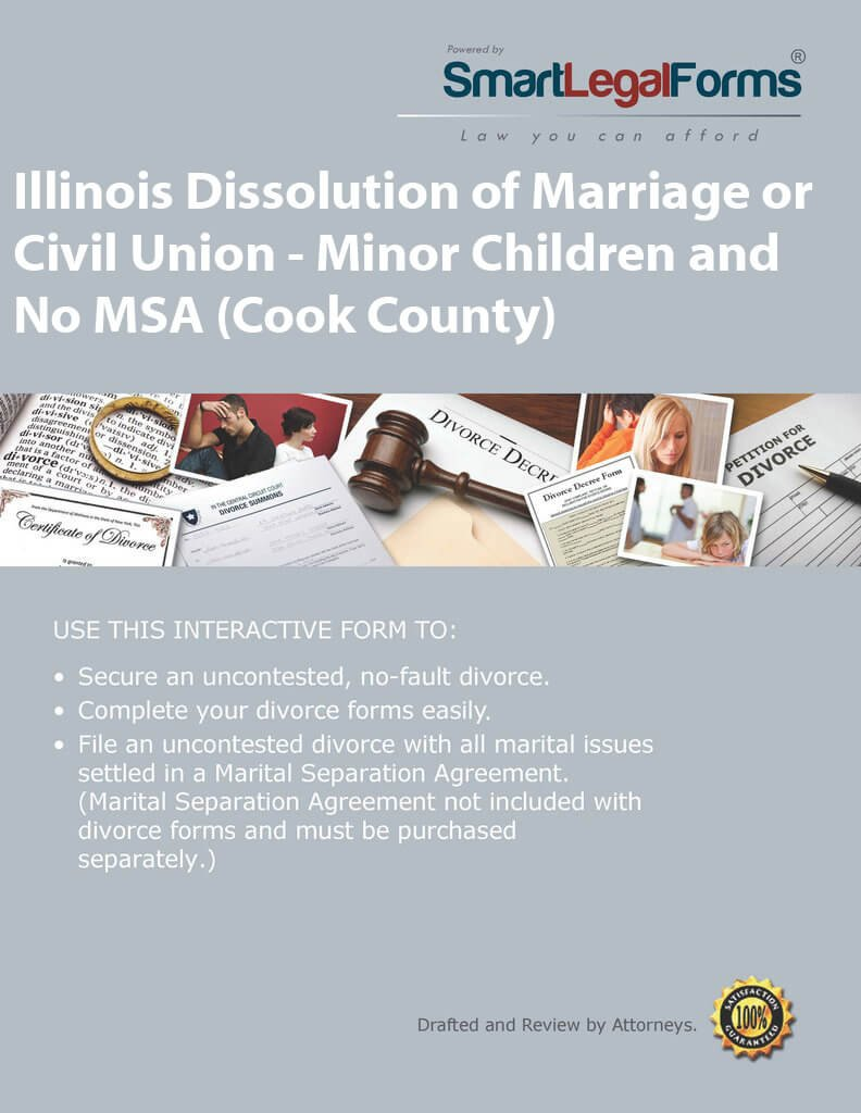 Amazon Illinois Dissolution Of Marriage Or Civil Union Minor