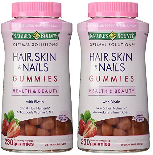 Nature's Bounty trxZU Hair Skin and Nails, 230 Gummies (2...