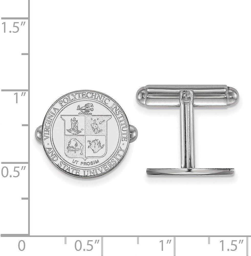 FB Jewels Sterling Silver LogoArt Florida State University Large Crest