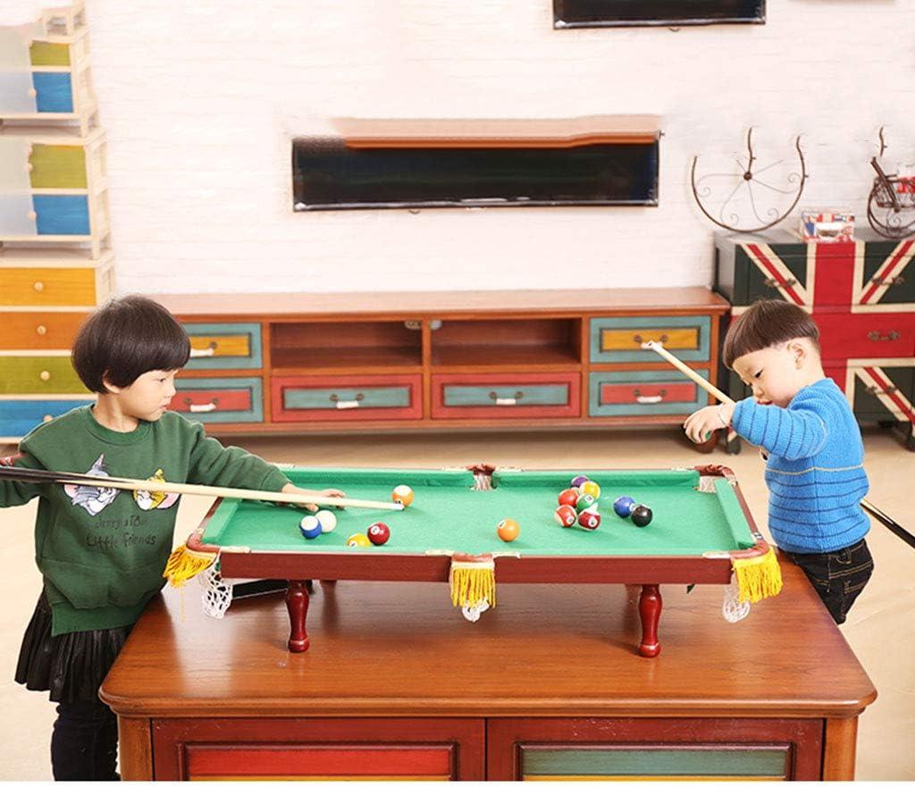 Mesa de Billar Miniatura de Billar Infantil Juguetes Juguetes ...