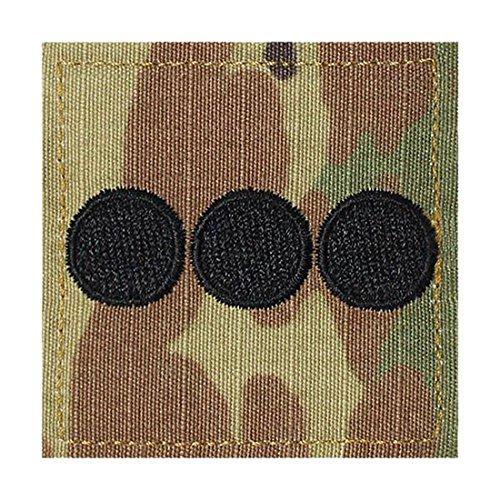Army CPT ROTC Cadet Rank OCP Scorpion with HOOK Fastener-CAPTAIN (Rank Insignia Rotc)