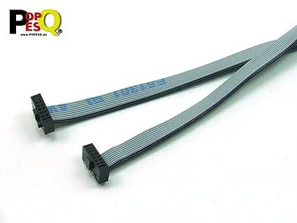 41f4fd102268 POPESQ® - IDC Cable 10 Pines (2x5) 1.27mm Conector/Connector cca. 20 ...