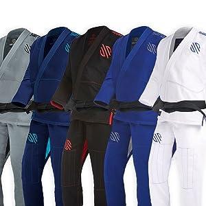 Best BJJ Uniforms - Sanabul Essentials V.2 Ultra Light Preshrunk BJJ Jiu Jitsu Gi
