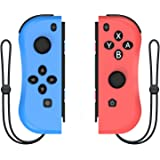 Kinvoca Joypad Controller for Nintendo Switch, Replacement for Switch Joycon with Wrist Strap, Alternatives for Nintendo…