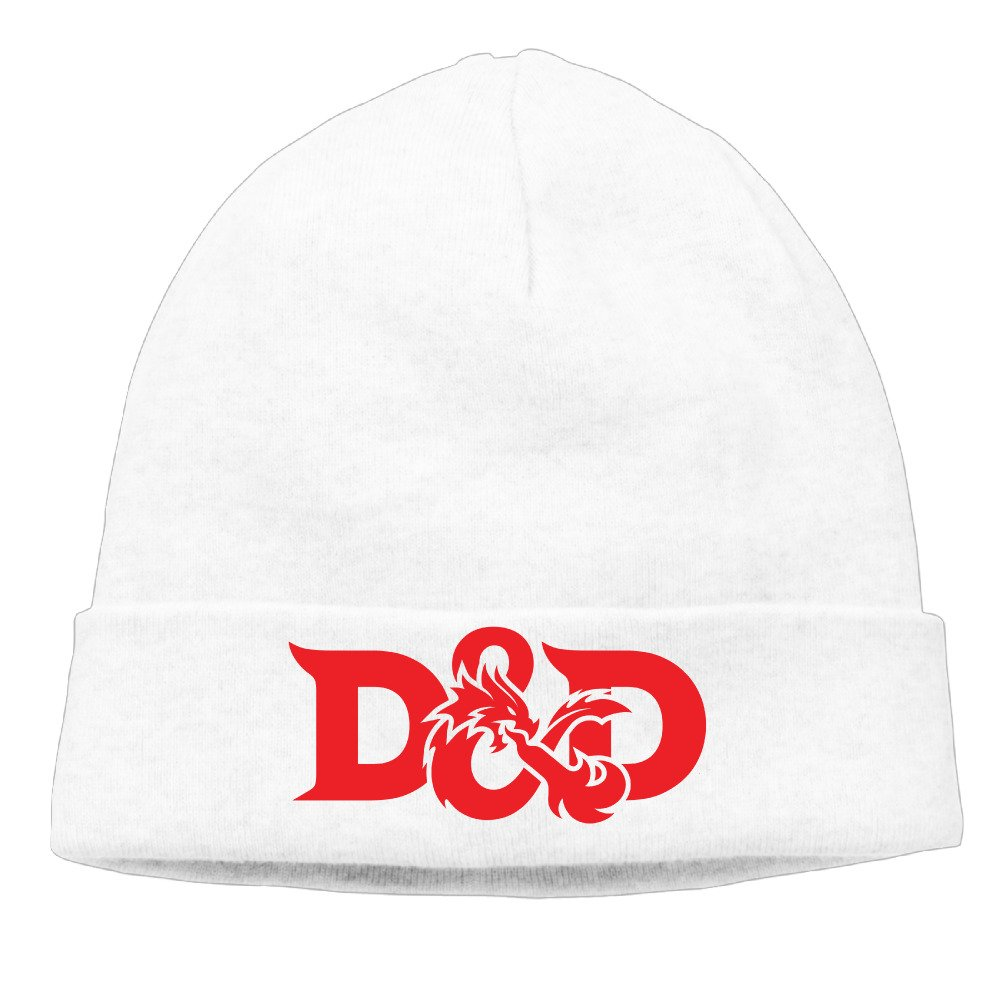 Amazon.com  Dungeons   Dragons D20 Soft Fashion White Kint Slouchy Hat  Beanies Cap (6700567084669)  Books 94e81bd9cec
