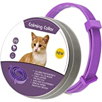 Calming Collar for Cats and Dogs, Pheromone Anti-Anxiety Calm Collars, Adjustable Reduce Relieve Anxiety Pheromone Keep…