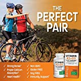 Vitamin K2 (MK7) with D3 Supplement Bone and