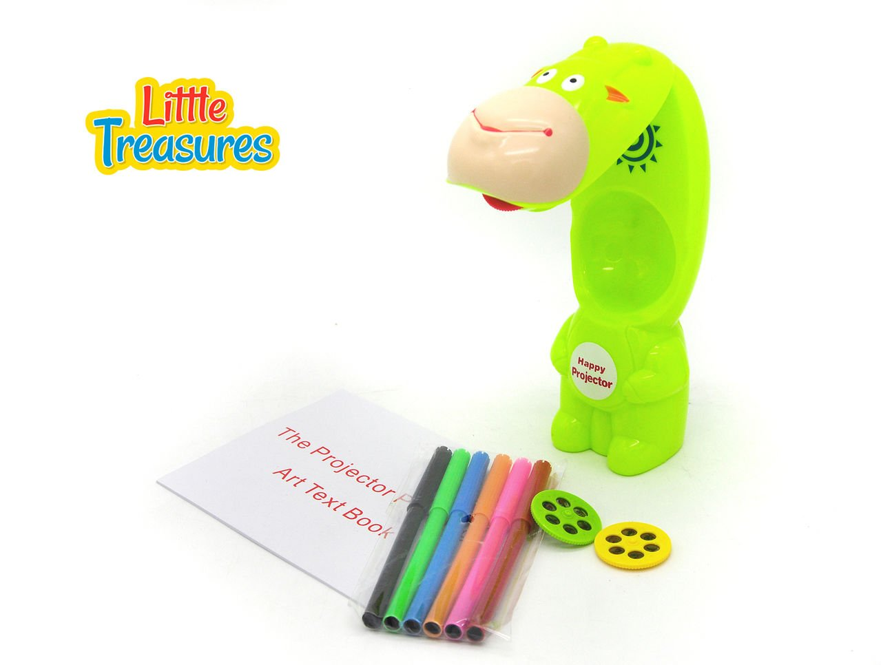 Little Treasures 3 In 1 Projection Painting Table Lamp to help Kids Learn to Draw and Trace to become Artists