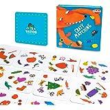 Vatos Crazy Matching Cards, 54pcs Preschool Reaction Matching Card Game for Kids, Memory Animal Pair Cards, Educational…