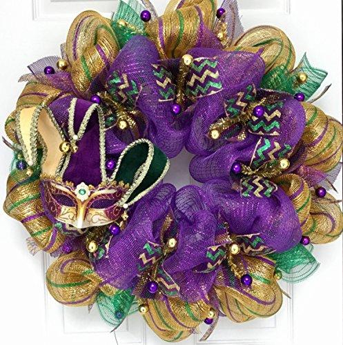 Mardi Gras Wreaths - 7