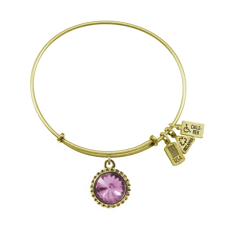 Wind /& Fire June Bracelet in Gold Tone