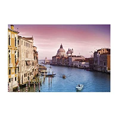Puzzle 1000 Piece Jigsaw Puzzle Kids Adult – Harbour City Jigsaw Puzzle: Toys & Games