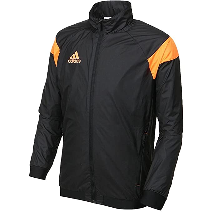 Adidas es Large Chaqueta Orange Amazon Negro Hombre Para Black pzqOpH1