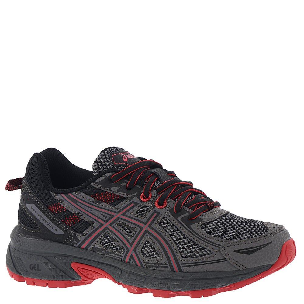 ASICS Gel-Venture 6 Shoe - Junior's Trail Running Carbon/Cayenne