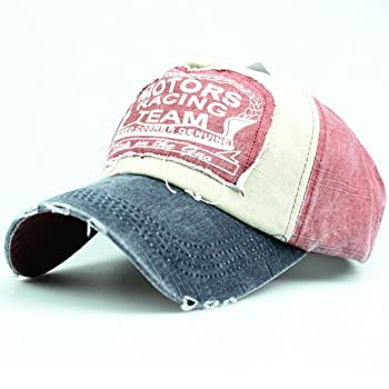 Unisex Casual Embroided Letter Printed Plain Adjustable Baseball Cap