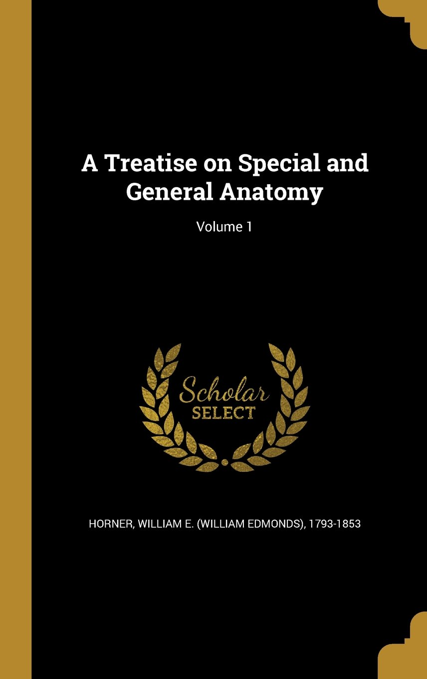 Download A Treatise on Special and General Anatomy; Volume 1 PDF