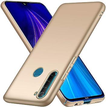 Amazon Com Fantings Case For Xiaomi Redmi Note 8 Ultra Thin Anti Drop Silk Feeling Protective Phone Case Pc Hard Cover For Xiaomi Redmi Note 8 Gold Electronics