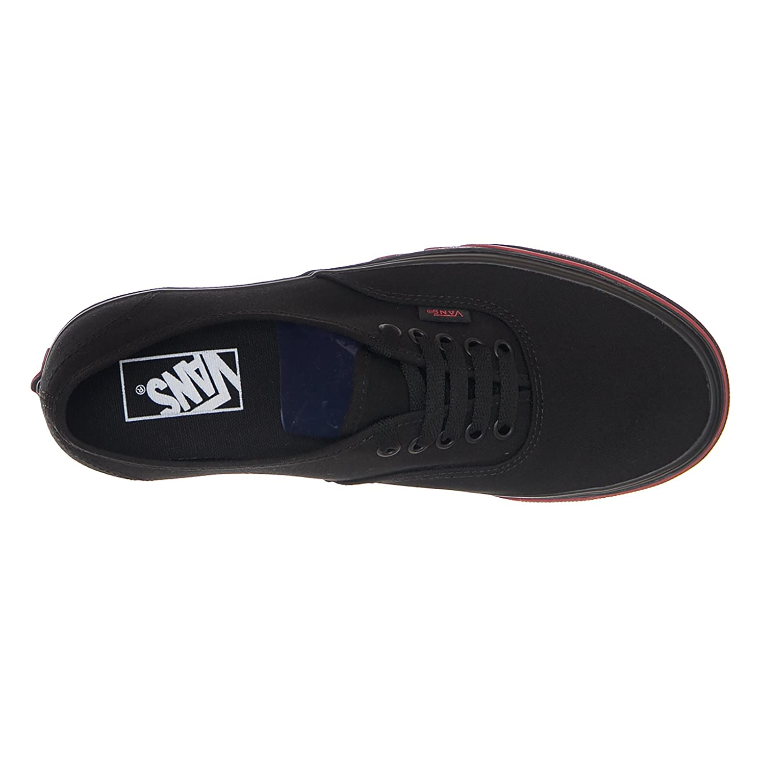 d1fcb23f55d Vans Authentic (Flame Wall) - Black RED (10.5 UK)  Amazon.co.uk  Shoes    Bags