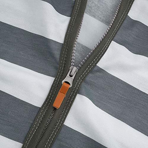 Zipper Hiver Capuche Femme Occasionnel Sport Gilet Long Vest Trench Avec Suit Manches Manteau Gris Longues Blouse Coat Oayard Top E7xdCwqIq