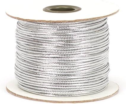 Silver Berwick TC 20 100 Yard Spool Tinsel Non-Stretch Metallic Cord